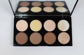swatches review makeup revolution ultra contour palette