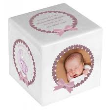 baby girl urns. Fine Baby Baby Girl Color Photo Block Urn On Urns