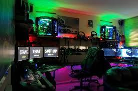 classic retro games room