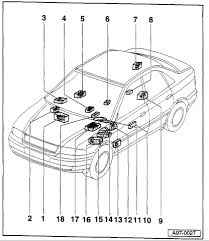 audi a quattro where can i a fuse panel diagram and graphic