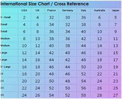 Us To Eu Size Chart Clothing Matter Of Fact Clothing Size Conversion Chart For Mexico