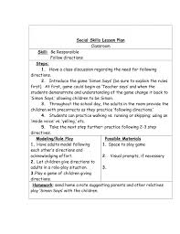 10 Special Education Lesson Plan Template Janitor Resume Social ...