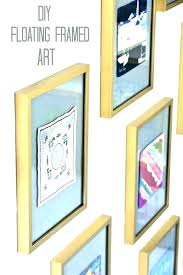 glass floating frames floating poster frame glass x frames categories picture koyal whole pressed glass