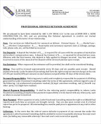 retainer consulting agreement 9 sample consulting retainer agreements word pdf