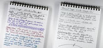 Steno Showdown Field Notes Versus Write Notepads