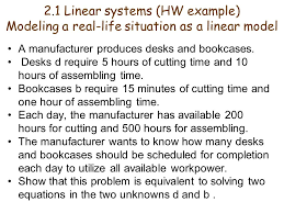 2 1 linear systems hw example