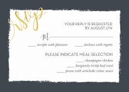 response cards template wedding response card samples rome fontanacountryinn com