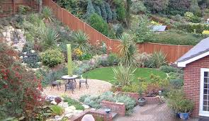 Small Picture Contemporary Garden Design On Steep Slopes Ideas Slope Photo 3 R