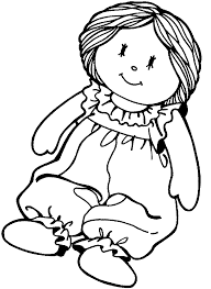 Small Picture Free Printable Paper Doll Coloring Pages For Kids Coloring Home