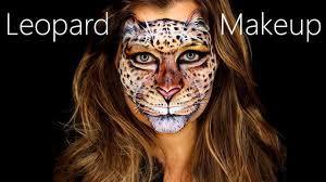 leopard makeup leopard face paint leopard face artistry tutorial you