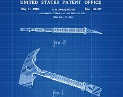 surgical instrument patent 1902 doctor office decor. Fireman\u0027s Ax Patent - Print, Wall Decor, Fireman Gift, Firehouse Surgical Instrument 1902 Doctor Office Decor 0