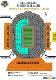 Notre Dame Stadium Detailed Seating Chart Notre Dame Stadium Map Map Interobject
