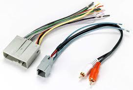 metra 70 5521 receiver wiring harness connect a new car stereo in Mustang Shaker 1000 at Shaker 1000 Subwoofer Wiring Diagram
