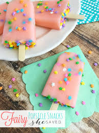 fairy popsicle snacks