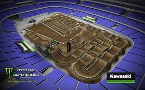 Supercross Seating Chart Arlington Sx Seating Relation To Track Map Moto Related