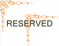 reserved sign templates free restaurant reserved sign templates at allbusinesstemplates com