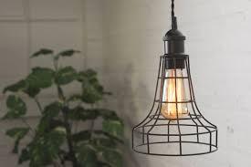 Edison lights pendant Mini 50 Etsy Wire Flare Cage Edison Antique Pendant Lighting Hanging Etsy