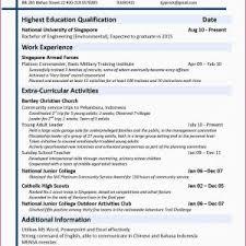 Sample Resume Civil Engineer Singapore Valid Resume Samples For