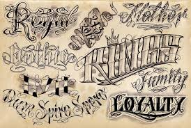Letters For Tattoos Names Template Magnificent 28 Cool Tattoo Lettering Designs Fonts Pinterest Tattoo
