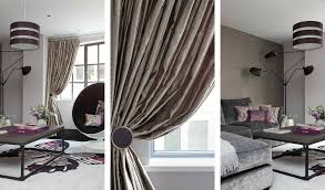Silk Curtains For Living Room Nicola Holden Designs Contemporary Interior Designer London