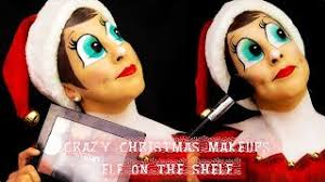 elf on the shelf makeup tutorial