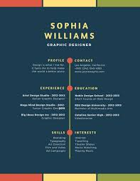 Blue Colorful Simple Modern Resume Templates By Canva Gorgeous Resume Playing Music
