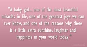 Quote For Beautiful Baby Girl