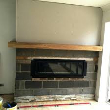 slate tiles fireplace hearth tile surround ideas design oyster before installation
