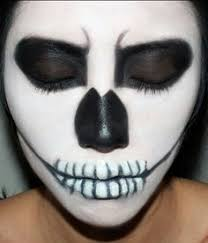 smushy makeup idea inspirations easy skeleton