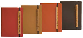 recycled leather journal books hardbound recycled notebooks