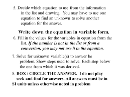 how to solve physics problems or translating from english to math  while every problem is different the following steps will help to keep you organized and help