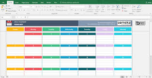 Free Excell Calendar 004 Simple Calendar 2016 Excel Template 2 Ideas Free
