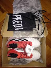 adidas predator 18 1 fg leather men s fashion footwear sneakers on carou