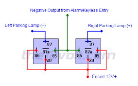 illuminated entry and light flash relay diagrams 2 wire light flash relay diagram 2 relays