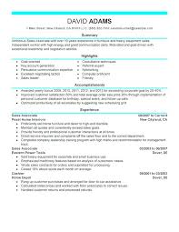 Sales Experience Resume Sample Sales Associate Resume Sample Sales ...