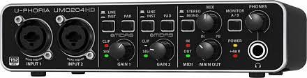 Купить USB <b>аудио</b>-интерфейс BEHRINGER UMC204HD в ...
