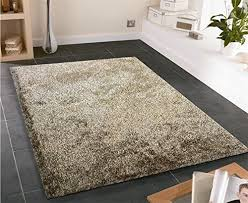 fuzzy 2 tone brown soft hand tufted gy area rug 8 x 11