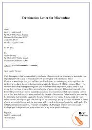 Sample Dismissal Letter Termination Dismissal Letter Template Format Sample Example