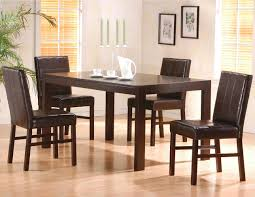 2 drawers cappuccino dining set