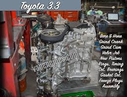 Toyota Engine Gallery- Photos of Engines we Remanufactured and Rebuilt