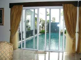 patio door curtain ideas awesome curtains for doors with glass inspiration with patio door curtain rods