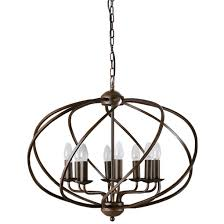 zola 8 light chandelier dark bronze