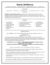 Cashier Resume Sample Monster Regarding Free Resume Templates No