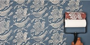 Patterned Paint Rollers Gorgeous How To Use Patterned Paint Roller To Paint Your Wall