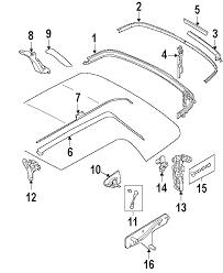 com acirc reg mini convertible soft top attaching components 2006 mini cooper base l4 1 6 liter gas attaching components