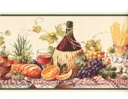 Kitchen Wallpaper Border Similiar Wine And Grapes Wall Borders Keywords