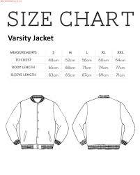 Ross Size Chart Jonathan Fucking Ross Mens Varsity Jacket 370