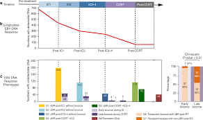 Ebv Interpretation Chart Liquid Biopsy Tracking During Sequential Chemo Radiotherapy