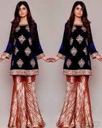 Recent Designer Dresses Winter Velvet Dresses Designs Latest Trends Collection 2020