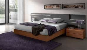 modern platform beds with lights. Simple Beds Modern Platform Bed Wood For Beds With Lights L